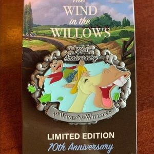 Wind In The Willows 70th Anniversary LE Disney Pin